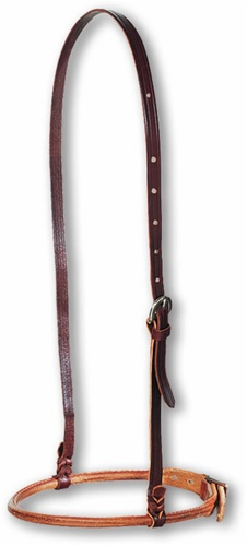 Adjustable Leather Cavesson