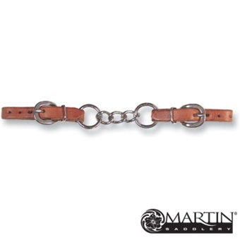3 Chain Link Harness Leather