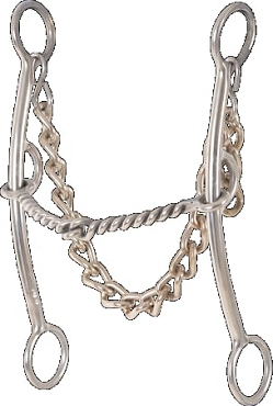 Pickup Bit Twisted Wire Snaffle