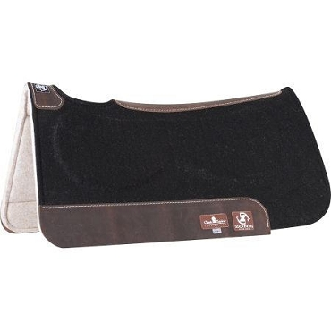 Zone Gel Felt Saddle Pads