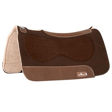 Zone Suede Saddle Pads