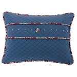 Bandera Blue Pillow
