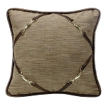 Highland Lodge Buckle Corners Pillow