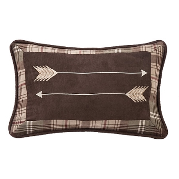 Embroidery Arrow Pillow