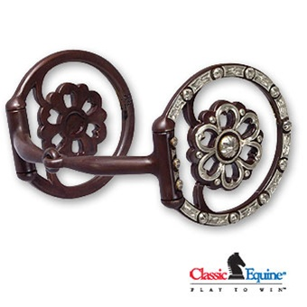 Clover Center Dee Ring Snaffle