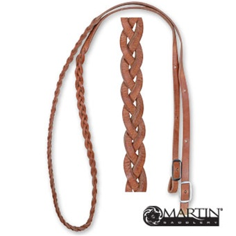 5/8 barrel reins 3 plait
