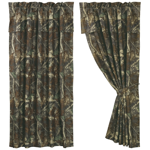 Oak Camo Curtains