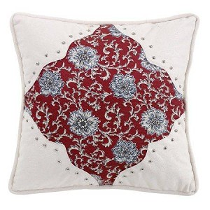 Bandera Floral Scalloped Pillow