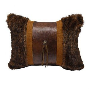 Faux Fur with Concho Pillow