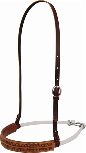 Double San Carlos Tooled Noseband