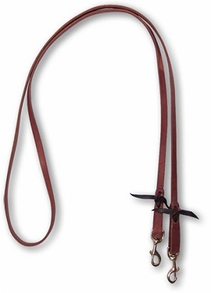 "Walt 5/8"" Roping Reins w/double snaps by Martin Saddlery"